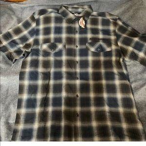 Harley-Davidson Mens Button Front Shirt XL